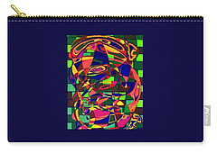 Carry-all Pouch featuring the painting Bulwark by Jonathon Hansen