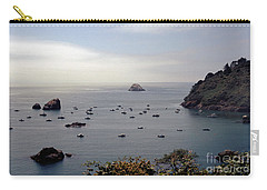 Busy Harbor Carry-all Pouch by Sharon Elliott