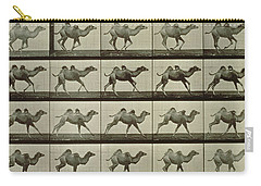 Camel Carry-all Pouch by Eadweard Muybridge