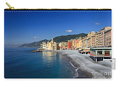 Carry-all Pouch featuring the photograph Camogli - Italy by Antonio Scarpi