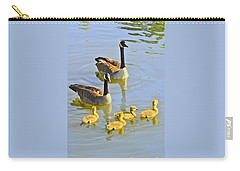 Canadian Goose Family Carry-all Pouch