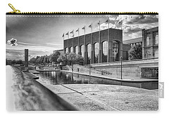 Carry-all Pouch featuring the photograph Canal Walk by Howard Salmon