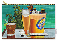 Caribbean Beer Carry-all Pouch
