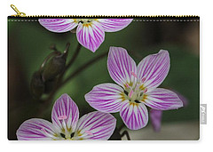 Carolina Spring Beauty Carry-all Pouch