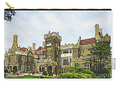 Casa Loma In Toronto Carry-all Pouch