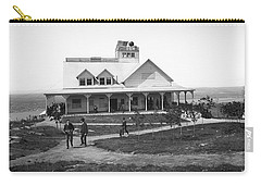 Casino At The Top Of Mt Beacon In Black And White Carry-all Pouch