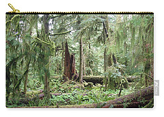 Carry-all Pouch featuring the photograph Cathedral Grove by Marilyn Wilson