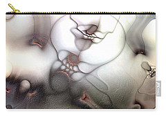 Carry-all Pouch featuring the digital art Ceaseless Vicissitude by Casey Kotas