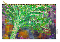 Carry-all Pouch featuring the painting Celery Tree by Holly Carmichael