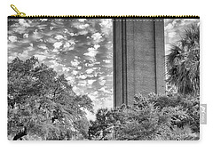 Carry-all Pouch featuring the photograph Century Tower  by Howard Salmon