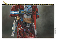 Ceremonial Red Carry-all Pouch