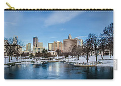 Carry-all Pouch featuring the photograph Charlotte Downtown by Alex Grichenko