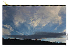 Carry-all Pouch featuring the photograph Chase The Moonlight by Tammy Espino