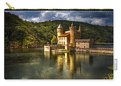 Chateau De La Roche Carry-all Pouch by Debra and Dave Vanderlaan