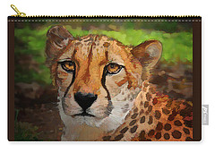 Cheetah Mama Carry-all Pouch