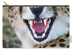 Cheetah With Attitude Carry-all Pouch