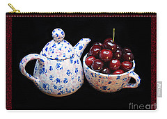 Cherries Invited To Tea 2 Carry-all Pouch