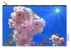 Carry-all Pouch featuring the photograph Cherry Blossoms  by Nick Kloepping