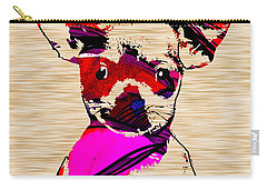 Chihuahua Carry-all Pouch by Marvin Blaine