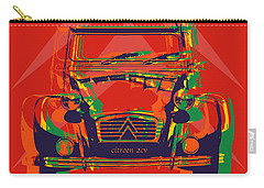 Citroen 2cv Carry-all Pouch by Jean luc Comperat