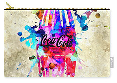 Coca-cola Carry-all Pouch by Daniel Janda
