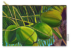 Coconuts At Sunset Carry-all Pouch