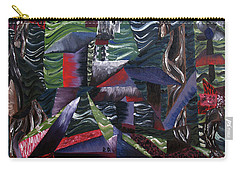Carry-all Pouch featuring the painting Cocytemensia by Ryan Demaree