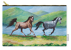 Colt And Mare Carry-all Pouch