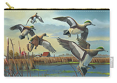 Carry-all Pouch featuring the painting Coming Home by Mike Brown