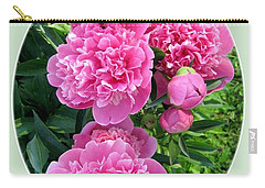 Country Peonies Carry-all Pouch