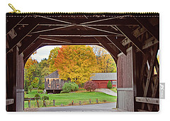 Covered Bridge In Autumn Carry-all Pouch
