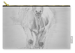 Cow Drawing Carry-all Pouch