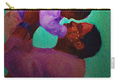 Carry-all Pouch featuring the painting Daddys' Little Girl by Vannetta Ferguson