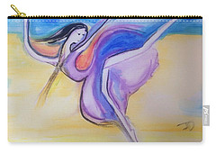 Carry-all Pouch featuring the painting Dancer by Judith Desrosiers