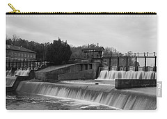 Daniel Pratt Cotton Mill Dam Prattville Alabama Carry-all Pouch by Charles Beeler