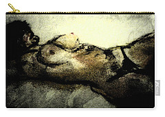 Dark Strokes Carry-all Pouch by David Trotter
