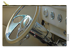 Carry-all Pouch featuring the photograph Dashboard Glam by Christiane Hellner-OBrien
