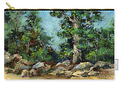 Rocks Along The Road Carry-all Pouch