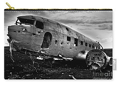 Carry-all Pouch featuring the photograph Dc-3  by Gunnar Orn Arnason
