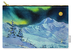 Denali Night Carry-all Pouch by Teresa Ascone