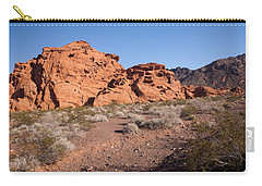 Desert Rock Formations Carry-all Pouch