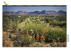 Desert Wildflowers Carry-all Pouch