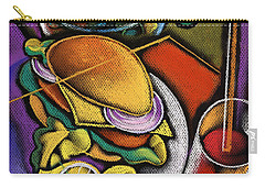 Food And Beverage Carry-all Pouch by Leon Zernitsky