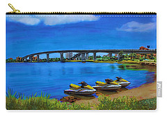 Carry-all Pouch featuring the painting Do You Sea Doo by Deborah Boyd