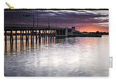 Drawbridge At Sunset Carry-all Pouch by Fran Gallogly