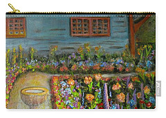 Dream Garden Carry-all Pouch by Laurie Morgan