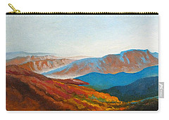 East Fall Blue Ridge Mountains 2 Carry-all Pouch by Catherine Twomey