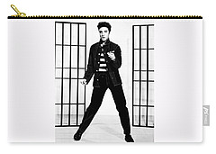 Elvis Presley Carry-all Pouch by Doc Braham