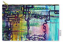 Emergent Order Carry-all Pouch by Regina Valluzzi