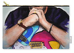 Eric Clapton Carry-all Pouch by Melanie D